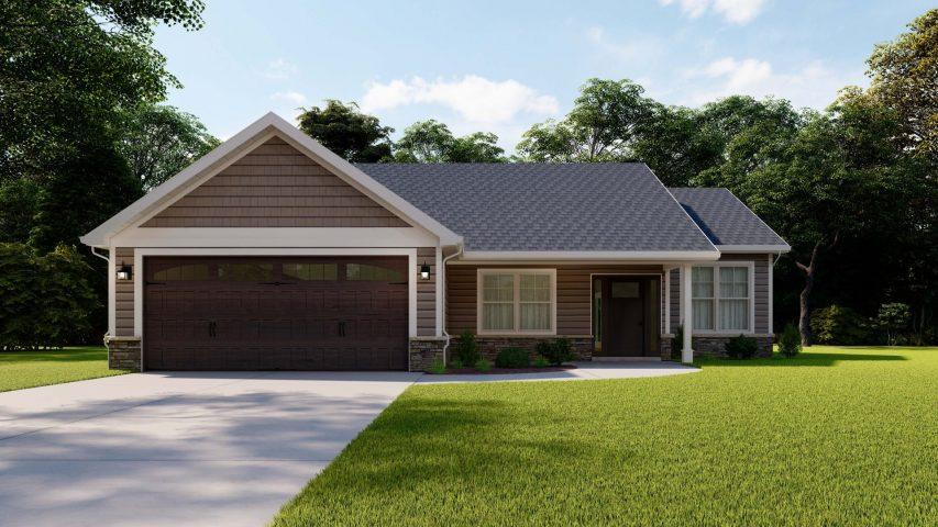 bethany single family home - Premier Homes