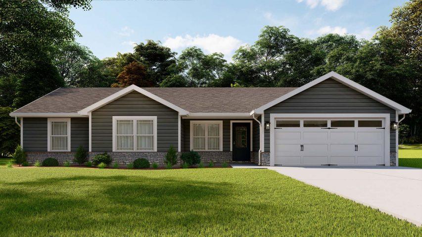executive single family home - Premier Homes