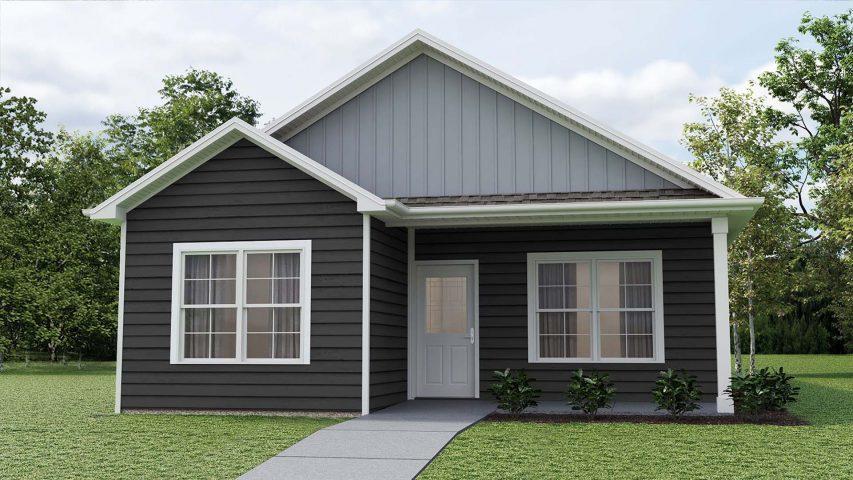 model e cottage home - Premier Homes