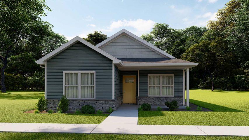model f cottage home - Premier Homes